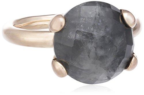 Bronzallure Damen-Ring Bronze Cocktail Cloudy Quartz Gewicht 5,1g Gr. 52 (16.6) WSBZ00013GR-12
