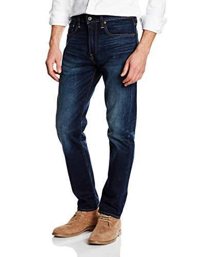 Levi's Herren Tapered Fit Jeans 502 Regular Taper, Blau (City Park 11), W32/L32 (Herren Levis Jeans)
