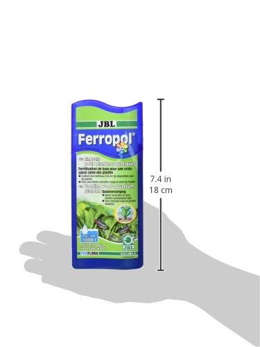 JBL Ferropol 250ml for Aquarium Water Treatment for 1000L 3