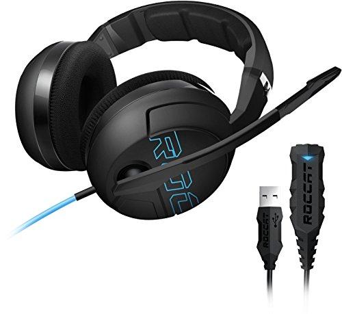 ROCCAT Kave XTD Stereo Headset inkl. Juke virtuelle 7.1 Sound Card USB