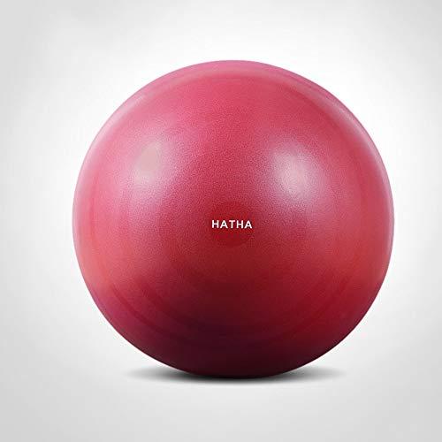 XUE Übung Ball Extra Thick Yoga Ball Chair, Anti-Burst Heavy Duty Stability Ball unterstützt Birthing Ball mit Quick Pump Expansive Living Anti-Burst-Übungsball (Office & Home & Gym),Red,75cm (Stability Ball Chair)