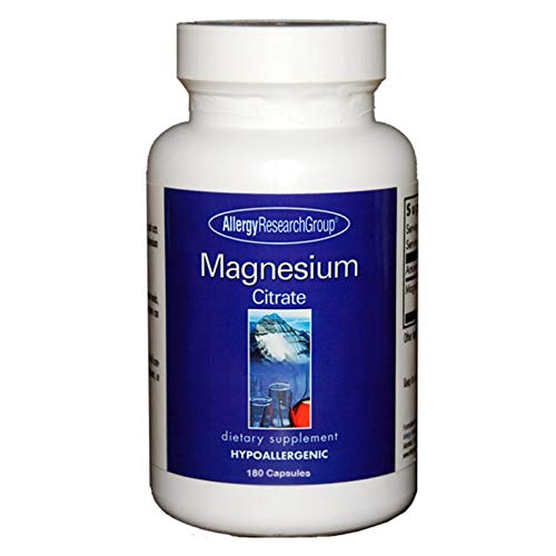 Allergy Research Magnesium Citrate 170mg 180 veg. Kapseln (228,6g) -