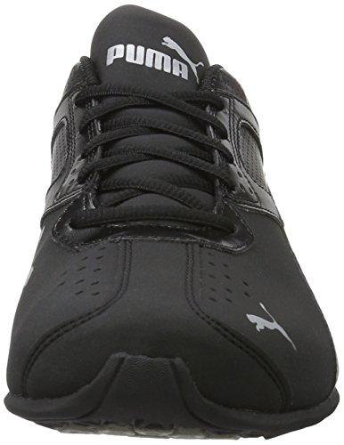 Puma Tazon 6 Fm, Scarpe da Corsa Uomo Nero (Black-silver)