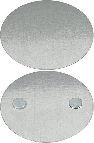Brennenstuhl Magnet Montageplatte BR 1000 (Magnethalterung für Rauchmelder) Silber