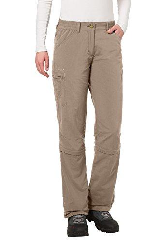 VAUDE - Pantalones Acampada Senderismo Mujer, tamaño