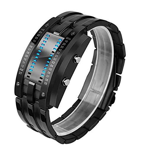 Orologio sportivo digitale da uomo, schermo oled, militare, per sopravvivenza, impermeabile, orologio da polso