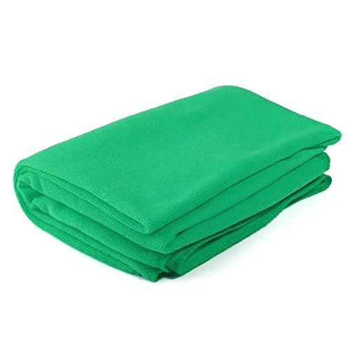 Tutoy Absorbierende Mikrofaser Badetücher Dusche Trocknen Waschlappen-Grün
