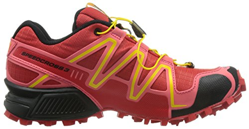 Salomon Speedcross 3, Chaussures de Running Compétition Homme Rouge