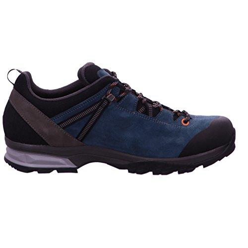 Lowa Arco GTX Lo, Chaussures de Randonnée Hautes Homme Bleu (Petrol/orange 7420)