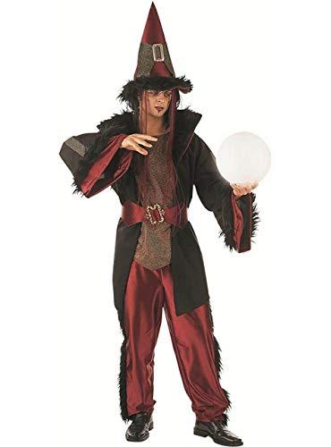 Für Hexenmeister Erwachsene Kostüm - Limit Sport-Kostüm Hexenmeister Datsche, für Erwachsene, Gr. XL (MA270)
