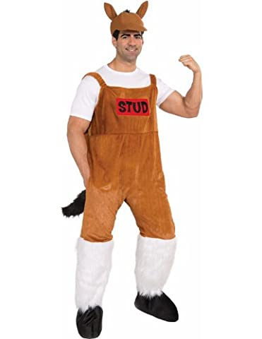 Bud The Stud Horse Costume Fancy Dress