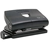 Rapesco PF87S0B1 Hole Punch - 810-P, 12 Sheet Capacity (Black)