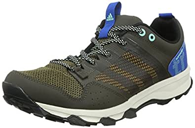 Adidas Kanadia 7 Trail, Chaussures de Running Homme - Marron (umber F15/core Black/blue), 41.33 EU