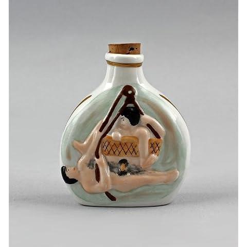 Porcellana Esca con erotico Rappresentazione