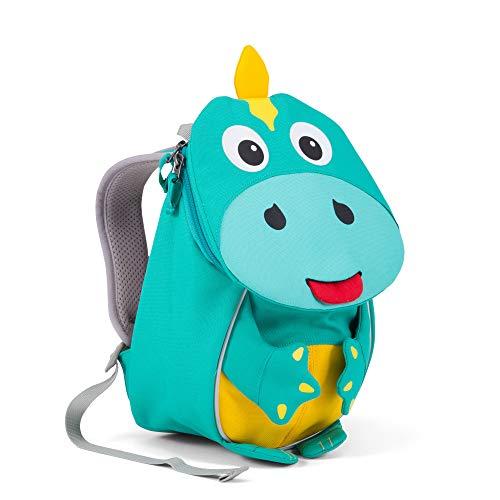 Affenzahn Kinderrucksack mit Brustgurt Dinosaurier für 1-3 Jährige Jungen und Mädchen im Kindergarten oder Kita der Kleine Freund