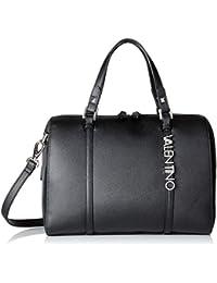 Mario Valentino VBS2RQ04, Sac à main pour femme Noir Noir (Nero 001) 17x22x30.5 cm (B x H x T)