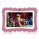 Hoonee Touch Kids Tablet 7 Pulgadas, ROM de 32GB, KIDOZ Certificado por Coppa y Google Play preinstalado con Funda a Prueba de niños, WiFi,...