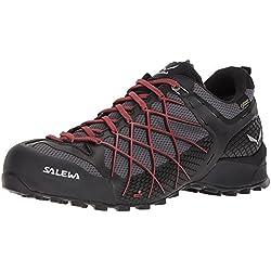 SALEWA Ms Wildfire GTX, Stivali da Escursionismo Uomo, Nero (Black out/Bergot 0979), 42 EU
