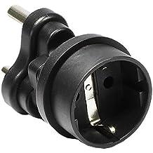 Stromadapter, Südafrika 3 pin Stecker auf Schuko Buchse