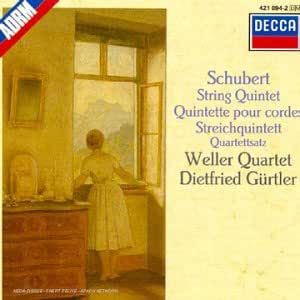 Schubert : Quintette pour cordes D.956 & D.703, String Quintet