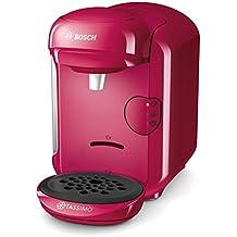 Bosch TASSIMO VIVY 2 Independiente Totalmente automática Combi coffee maker 0.7L Rosa - Cafetera (Independiente, Combi coffee maker, Rosa, Taza, Tocar, 0,7 L)
