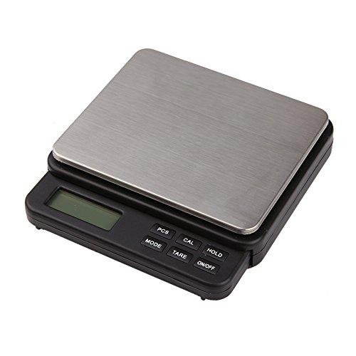 Caracteristicas: Bandeja de pesaje de acero inoxidable para una fácil limpieza. Botones grandes fáciles de usar. Gran pantalla clara y fácil de leer. Especificación: Pesaje: 1000g Exactitud: 0.01g Unidad de peso: g, ct, oz, dwt Tamaño del producto: 1...