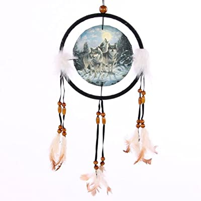 Dreamcatcher Print Midnight Watcher, Small