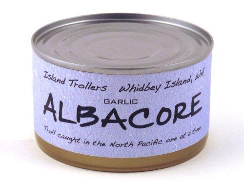 albacore-tuna-troll-caught-dolphin-safe-sashimi-grade-north-pacific-garlic-212-g-75-oz-by-island-tro