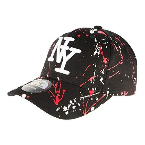 Hip Hop Honour Cappellino NY Giallo Fluo Flashy Baseball Gwyz Unisex