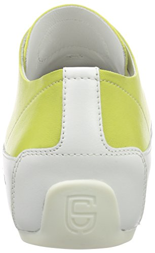 Damen Cooper Sneakers lime Grün nappa Candice Rock double PwXqSnId
