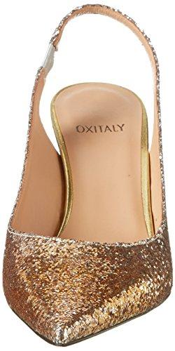 Oxitaly - Stefy 103, Scarpe col tacco Donna Oro (Gold)