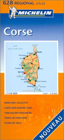 Atlas routiers : Corse, N°20628