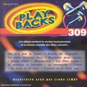 Cd play-backs vol 309 Linda Lemay
