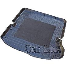 Car Lux AR01603 - Alfombra Cubeta Protector cubre maletero a medida con antideslizante