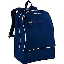 Mochila Mochila Sport con Zapatero Macron Academy Maxi Backpack Azul