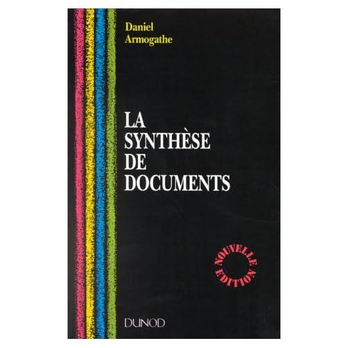 LA SYNTHESE DE DOCUMENTS
