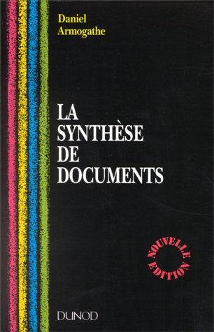 LA SYNTHESE DE DOCUMENTS