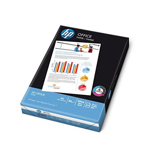 HP Papier Office A4 80g/qm 5x500 Blatt (1 Karton x 5 Pakete)