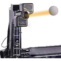 MYHXC Ping-Pong Robot con Diferentes giros Tenis de Mesa Robots Máquina automática for la Formación de Bola, Mesa de Ping Pong Ajustable Robotwith 200 Bolas