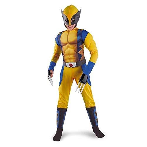 RANRAN Kinder Wolverine Kostüm Halloween Kostüm Halloween Kostüm Cosplay Kostüm,L