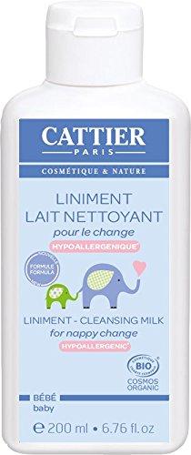 Cattier Liniment lait nettoyant pour le change 200ml