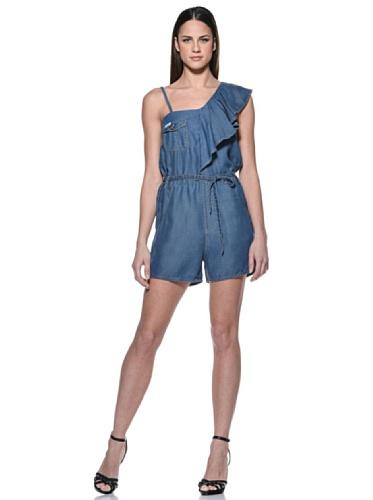 original Diesel Jeans Jumpsuit Overall Dahlin blau Taschen NEU (Damen Diesel Bekleidung)