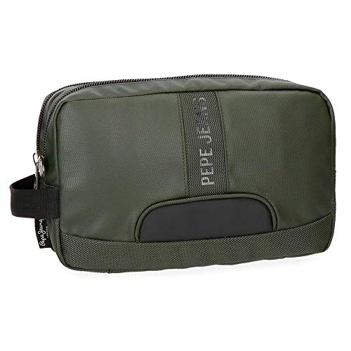 Neceser Pepe Jeans Bromley Verde adaptable trolley