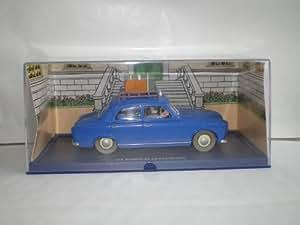 Voiture Tintin LES BIJOUX DE LA CASTAFIORE (Le Taxi de Moulinsart)