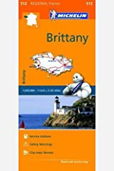 Brittany: Map (Michelin Regional Maps) Map