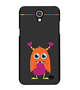 PrintVisa Owl In The Athens High Gloss Designer Back Case Cover for Samsung Galaxy Mega 2 G750F