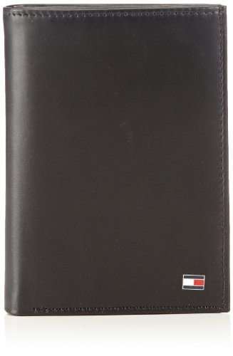 Tommy Hilfiger Herren ETON N/S WALLET W/COIN POCKET Geldbörsen, Schwarz (BLACK 990), 10x13x2 cm