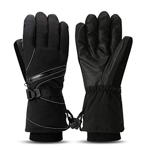 Youtaimei Handschuhe Thermische Winterhandschuhe Lange Manschette Fahrradhandschuhe Gemütlich -