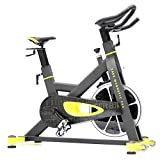 IndoorCycling Bikes - Spinning bike - FitBike Race Magnetic Basic, Home und Pro - 20 kg bis 22 kg Schwungrad - Poly V-Riemen und Magnetisches Widerstandsystem - Kompakt - Bis 115-150 kg - Spinning Fahrrad