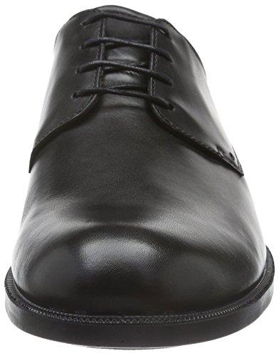 Ecco Harold, Derby Homme Noir (BLACK01001)